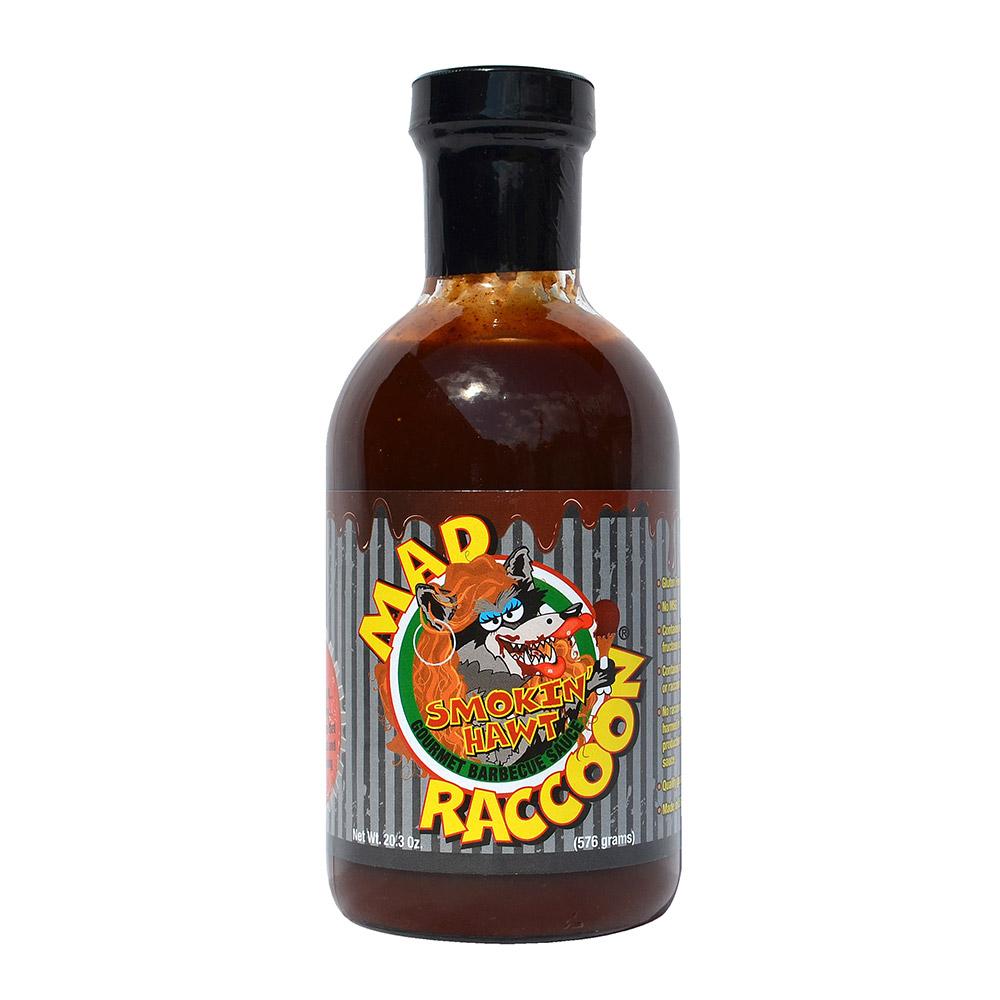 Mad Raccoon Smokin Hawt  Barbecue Sauce 20.3oz Bottle