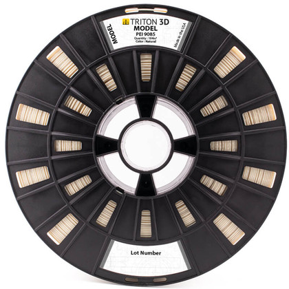 Ultem 9085 Filament Compatible with Stratasys Printers