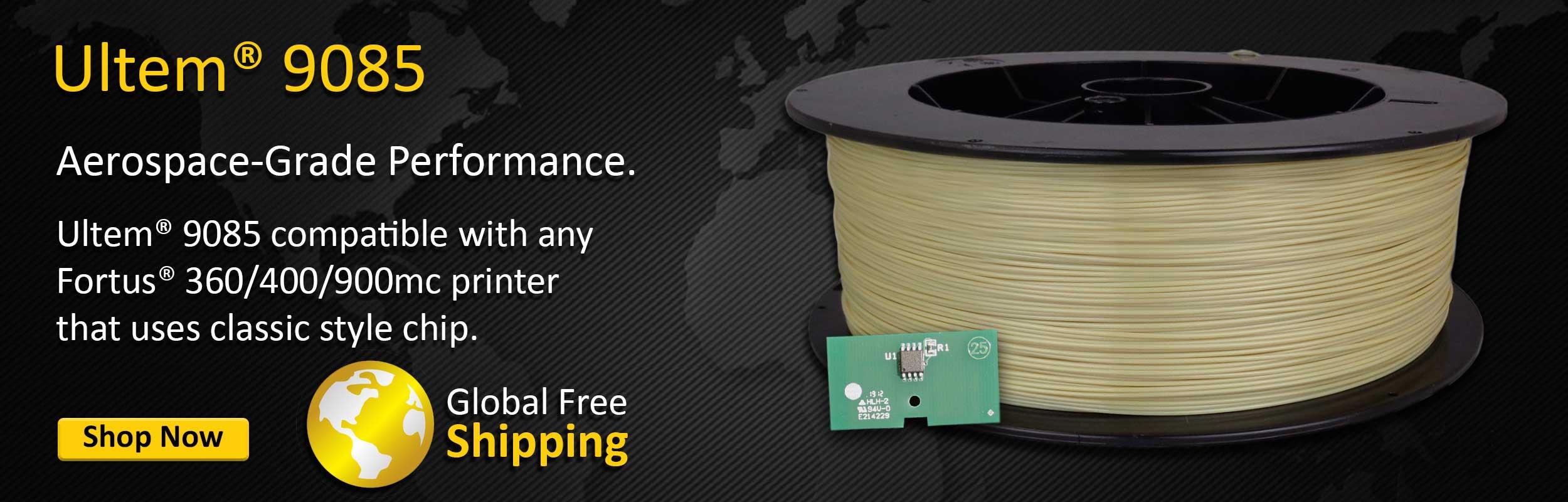Ultem 9085 Fortus Filament Refill
