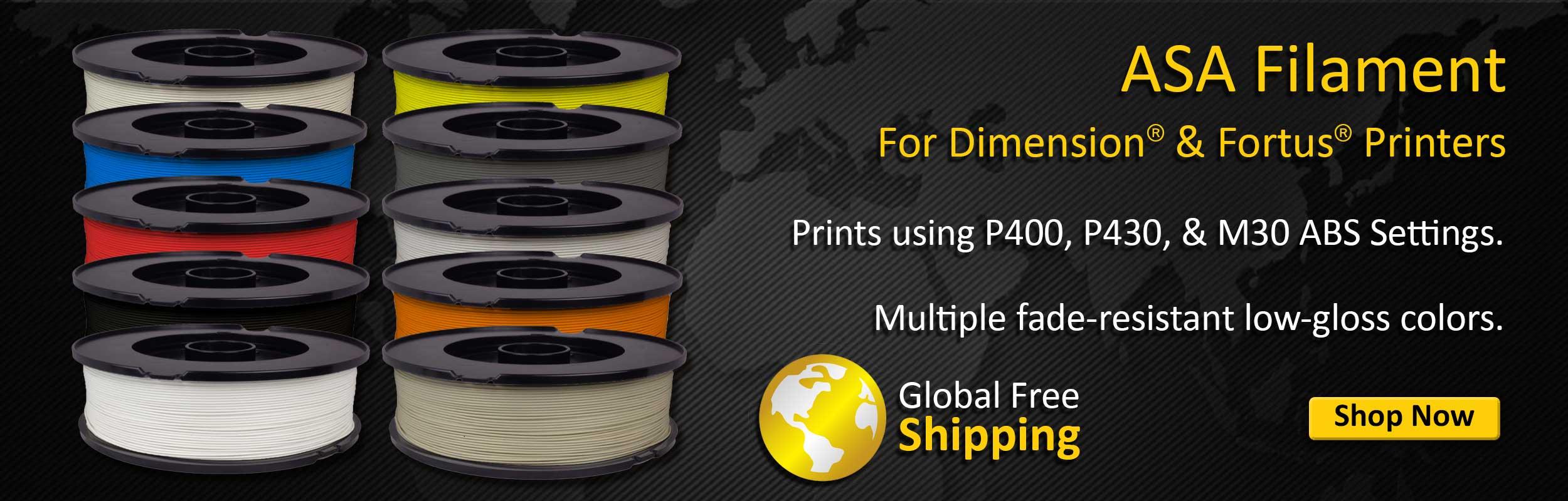 Refill for ASA Fortus/Dimension Filament