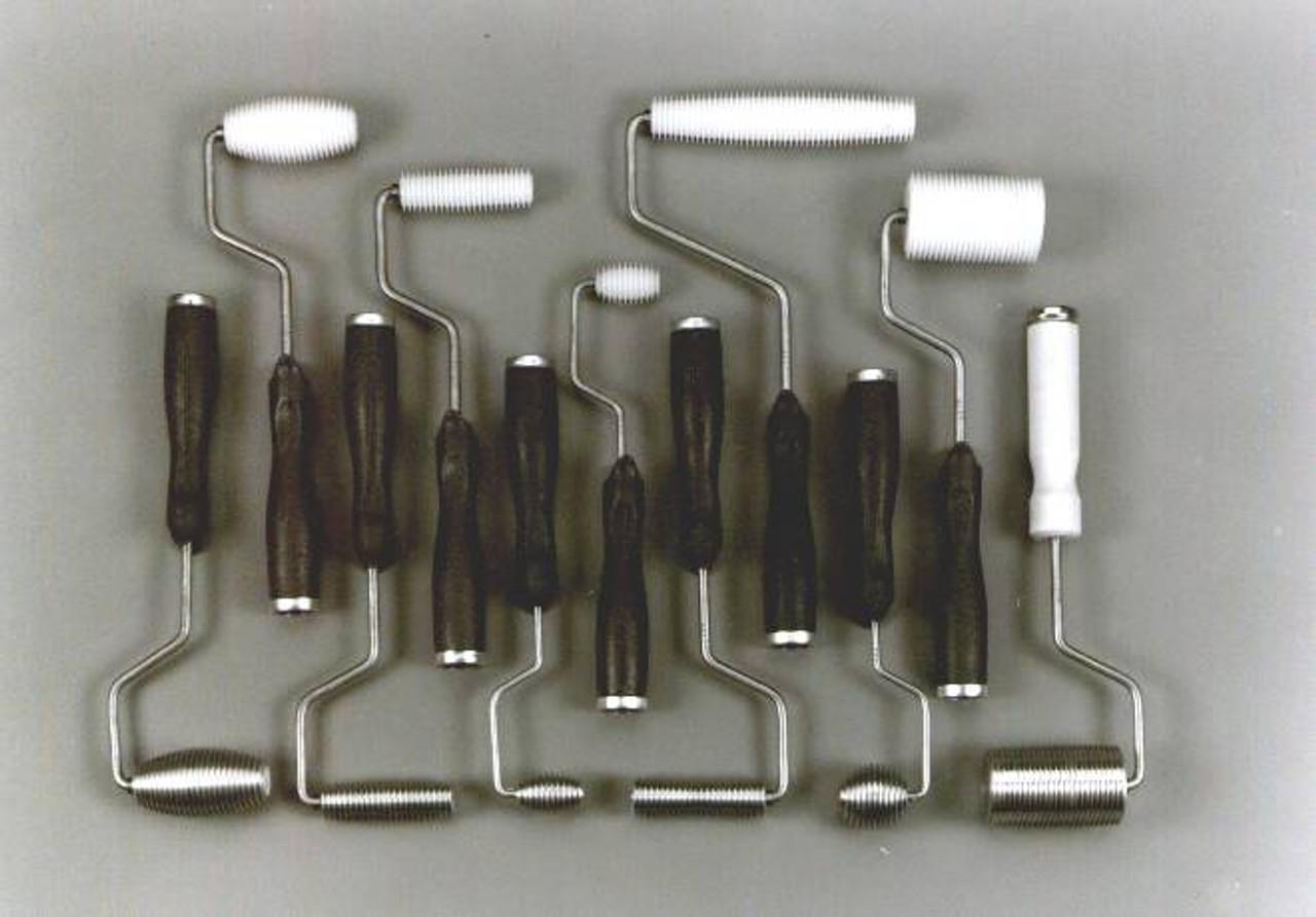 """Fiberglass Roller For Air Bubbles 1//2x3/"""" Aluminum"""