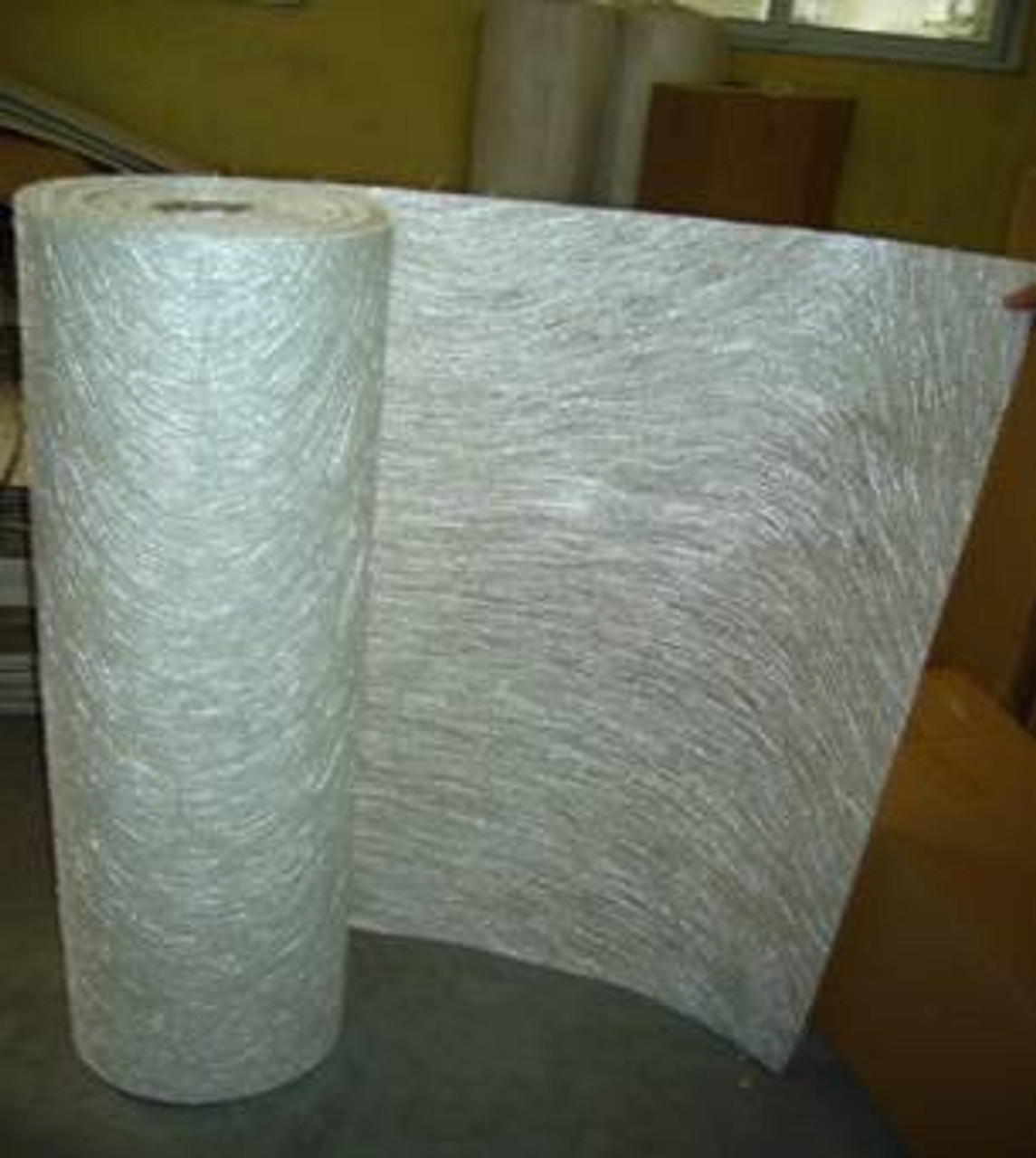 "1.5 oz x 50"" Fiberglass Chop Strand Mat - Sold By The Foot"