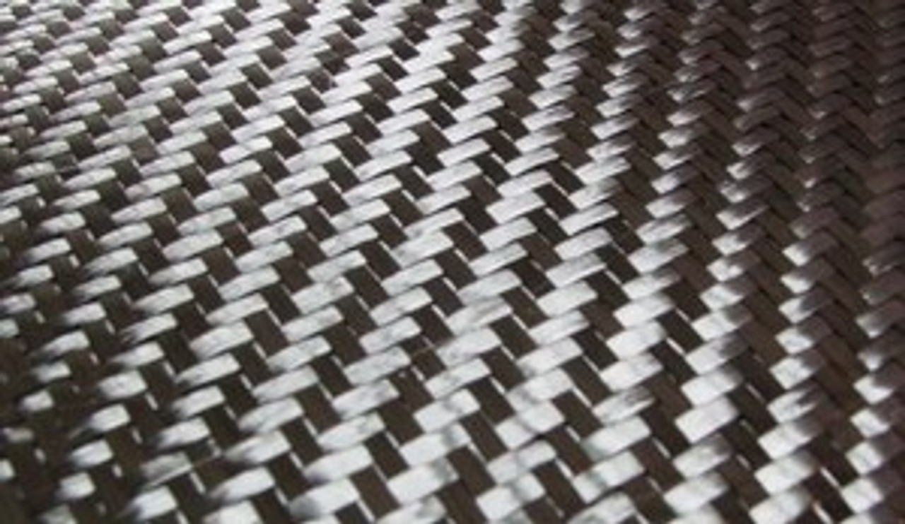 "5.7oz Twill Weave 50"" wide Carbon Fabric - Sold By The Yard"