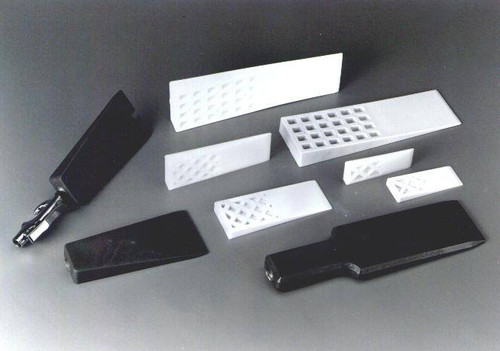 "3-1/8""W x 10""L Rigid Plastic Mold Release Wedge"