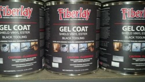 Gel Coat ( Black Tooling ) 1 Gallon + MEKP Included