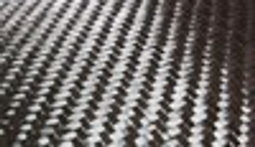 """5.7oz Twill Weave 50"""" wide Carbon Fabric - Sold By The Yard"""