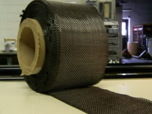 "Carbon Fiber Tape: 5.7oz x 4"" wide, 3K"