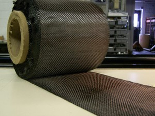 "Carbon Fiber Tape: 5.7oz x 6"" wide, 3K"