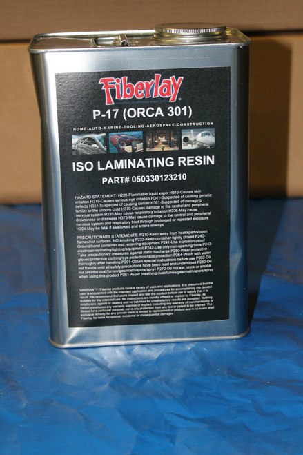 PREMIUM LAMINATING RESIN 1 GAL  MEKP HARDENER INCLUDED