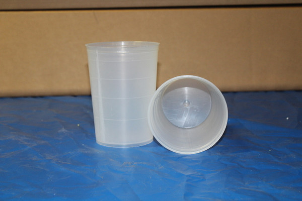 Graduated Heavy Duty Plastic Cup ( G100 and G200 Cup Guns ) 100 cups
