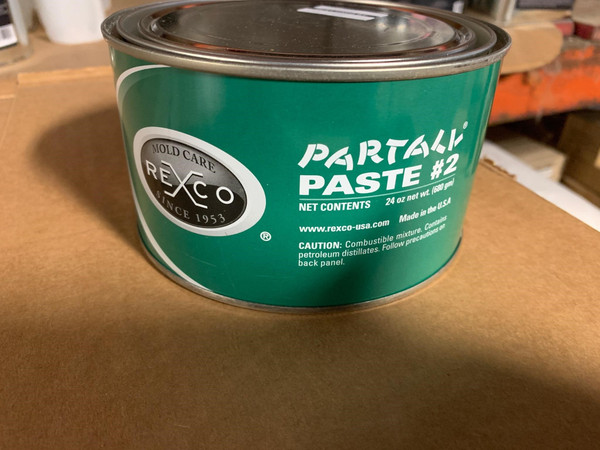 Partall Paste #2, Green Wax ( 1.5 lb)