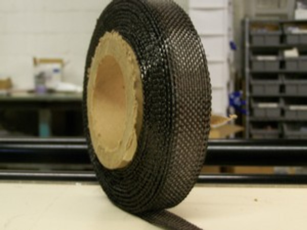 "Carbon Fiber Tape: 5.7oz x 1"" wide, 3K"
