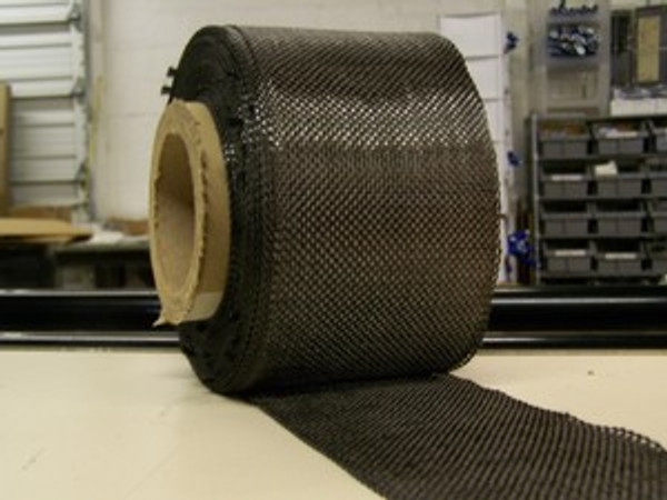 "Carbon Fiber Tape: 5.7oz x 3"" wide, 3K"