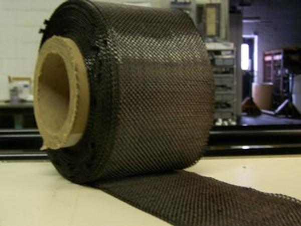 "Carbon Fiber Tape: 5.7oz x 4"" wide, 3K"