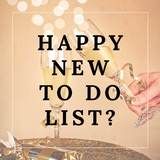 Happy New To Do List!