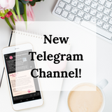 Join our New Telegram Channel!