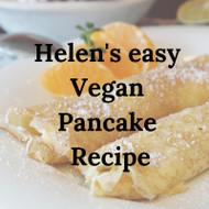 Helen's Vegan Pancake Recipe