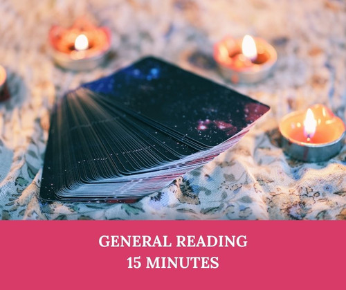 15 minute psychic reading using tarot and oracle cards on any subject including work and career, love and relationships, or just a general look at the future.
