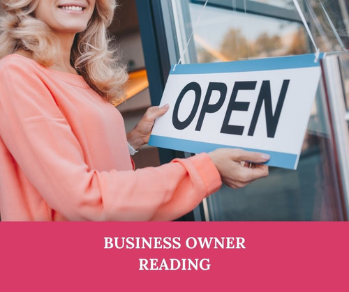 A 30 minutes Psychic reading for  business owners or the self employed, or anyone hoping to start a business.