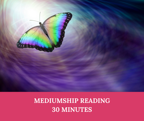 A 30 minute Mediumship reading to contact loved ones in the spirit world