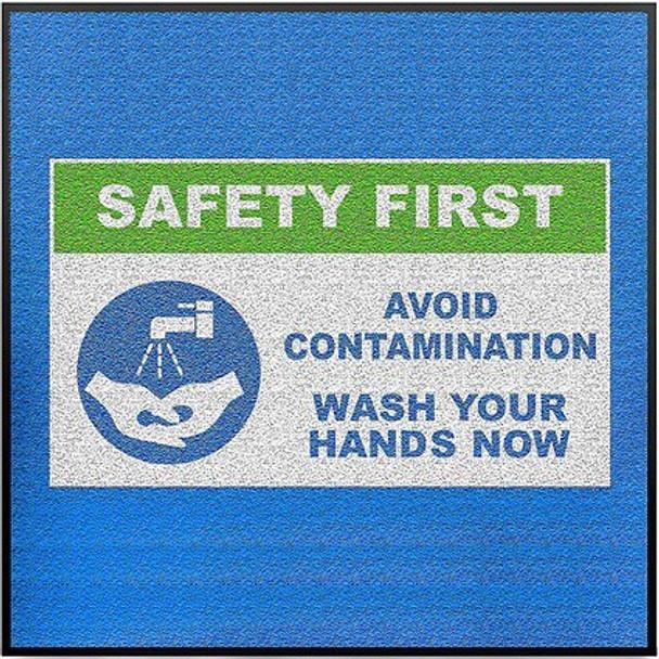 Hand Washing Floor Mat