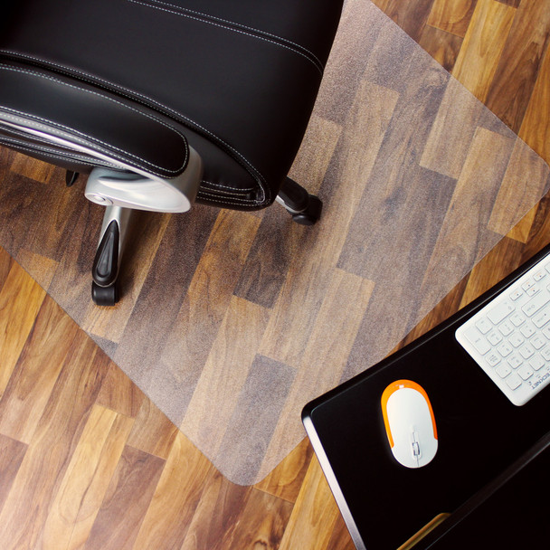 Marvelux polycarbonate chair mat for hard floors and surfaces