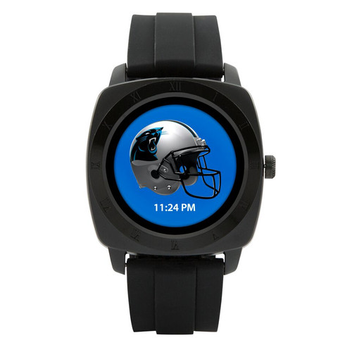 Game Time introduces the first-ever officially licensed Smart Watch for the NFL! The Smart Watch will sync with both Android and IOS. Features include a choice of analog or digital watch face, reminder for incoming SMS, call & answer -- or reject -- phone, Bluetooth music player, clock alarm, sedentary reminder, pedometer, recorder, remote camera control, calendar, calculator, synchronized phone book, social media applications, and your choice of officially licensed team logos and colors on the face of your watch!