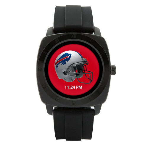 Game Time introduces the first-ever officially licensed Smart Watch for the NFL! The Smart Watch will sync with both Android and IOS. Features include a choice of analog or digital watch face, reminder for incoming SMS, call & answer -- or reject -- phone, Bluetooth music player, clock alarm, sedentary reminder, pedometer, recorder, remote camera control, calendar, calculator, synchronized phone book, social media applications, and your choice of ALL 32 officially licensed team logos and colors on the face of your watch!
