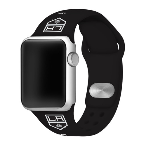 NHL Los Angeles Kings Black Silicone Band 42/44mm for Apple Watch