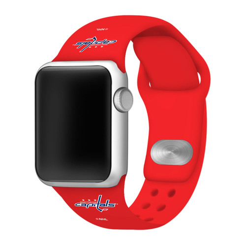 NHL Washington Capitals Red Silicone Band 42/44mm for Apple Watch