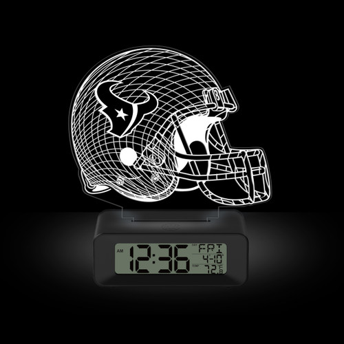 LED DESK CLOCK HOUSTON TEXANS