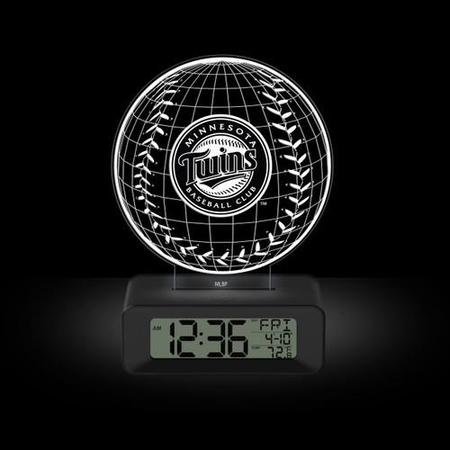 LED DESK CLOCK MINNESOTA TWINS