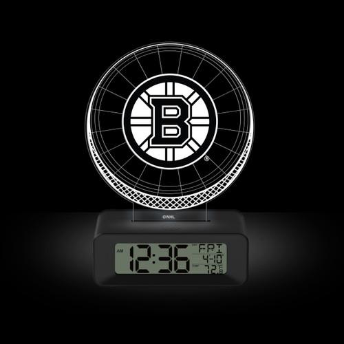 LED DESK CLOCK BOSTON BRUINS