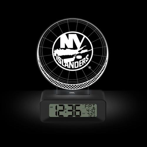 LED DESK CLOCK NEW YORK ISLANDERS