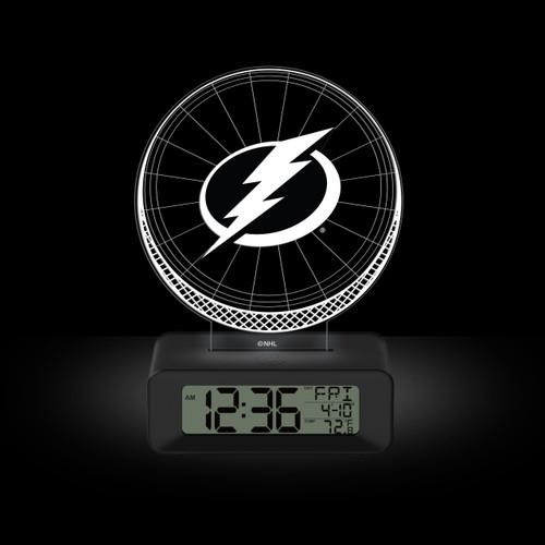 LED DESK CLOCK TAMPA BAY LIGHTNING