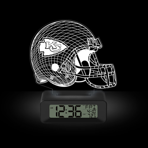 LED DESK CLOCK KANSAS CITY CHEIFS