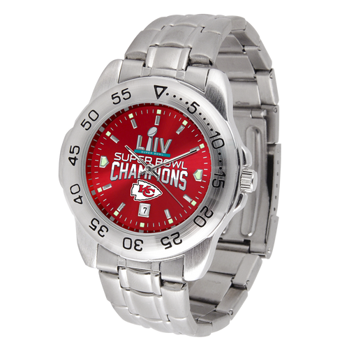KANSAS CITY CHIEFS SUPER BOWL CHAMPIONS SPORT STEEL SERIES