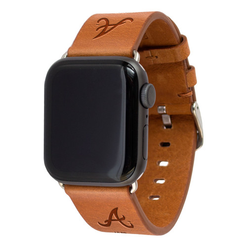ATLANTA BRAVES LEATHER BAND