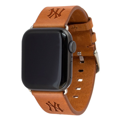 NEW YORK YANKEES LEATHER BAND