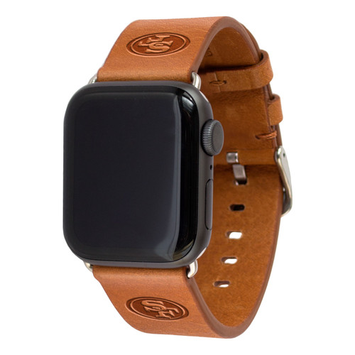 SAN FRANCISCO 49ERS LEATHER BAND