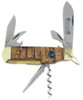 Boker Deluxe Scout Flamed Chestnut Wood 140th Annviersary 111869