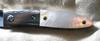 C.H. Morris Custom Liner Lock Titanium Gold Lip Pearl Wharncliffe Blade