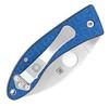 Spyderco Lil' Lum Liner Lock Blue Nishijin Sprint Run C205GFBLP