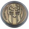 Marfione Custom Challenge Coin Spartan Molon Labe Antique Bronze
