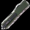 Microtech Ultratech D/E Contoured OD Green Black Full Serrated 122-3OD
