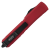 Microtech Ultratech D/E Contoured Red Black Serrated 122-2RD