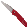 Kershaw LFK Lightweight Liner Lock Red Handle Satin Blade 1700RD