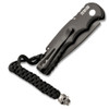 Pro-Tech TR-5.70 Auto Skull Black Handle DLC Blade Limited Edition