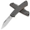 Benchmade Proper Slip Joint Folder Clip Point Carbon Fiber Handle Stonewash Blade 318-2