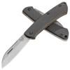 Benchmade Proper Slip Joint Folder Sheepsfoot Carbon Fiber Handle Stonewash Blade 319-2